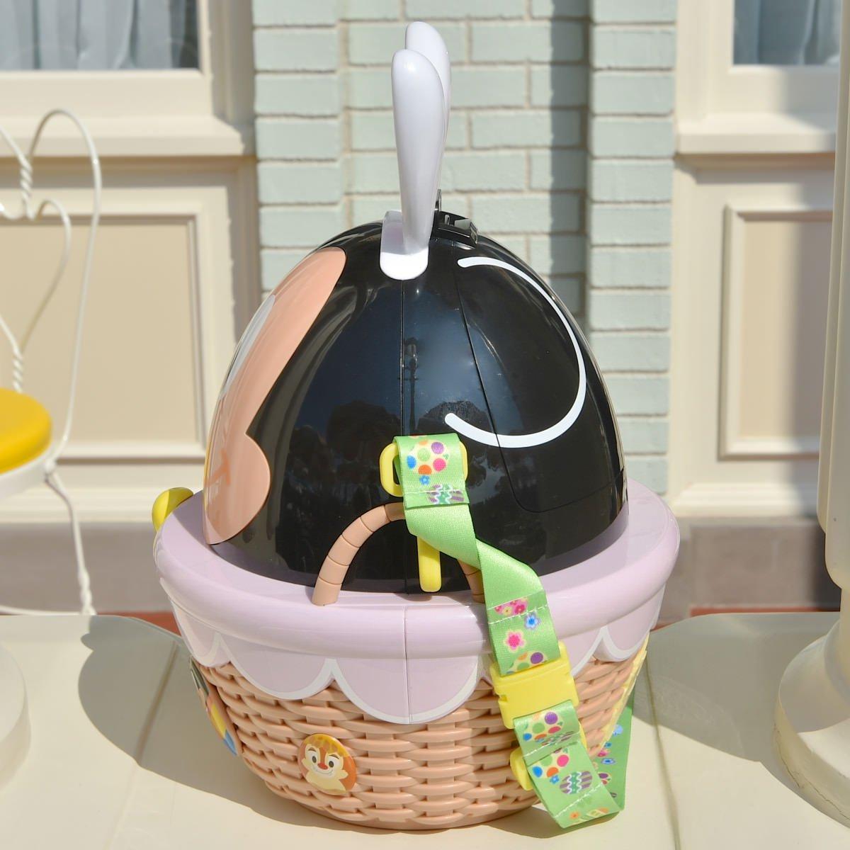X射線【C141003】日本東京迪士尼代購-米奇Mickey 復活節彩蛋限定版造型爆米花桶,包包掛飾 / 鑰匙圈 / 置物桶 / 收納架 / 收納包 2