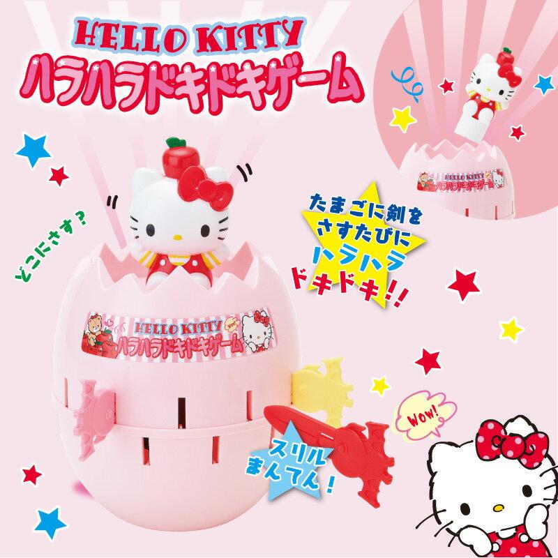 日本代購預購 三麗鷗 Kitty 凱蒂貓 造型危機一發玩具 插插樂 玩具 桌遊 785-467