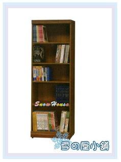 ╭☆雪之屋居家生活館☆╯AA552-09C-052x6柚木開放書櫃展示櫃收納櫃置物櫃