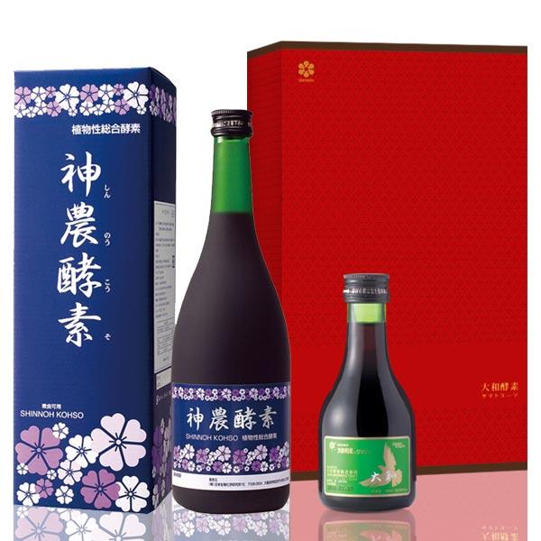 大和神農酵素 (全素可食) (720ml) 年節禮盒