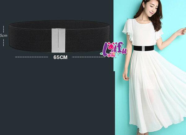 ★草魚妹★H727腰帶銀色華麗造型鬆緊腰封腰帶皮帶正品,售價250元