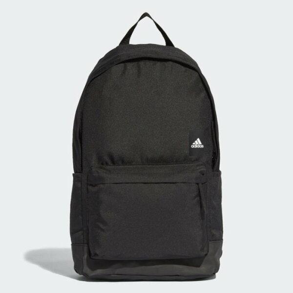 ADIDASCLASSICBP後背包雙肩休閒旅遊夾層大容量黑【運動世界】CF9007