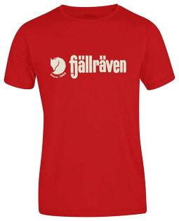 ├登山樂┤瑞典FjallravenRetroT-shirt有機棉T-男320紅#F81782-320