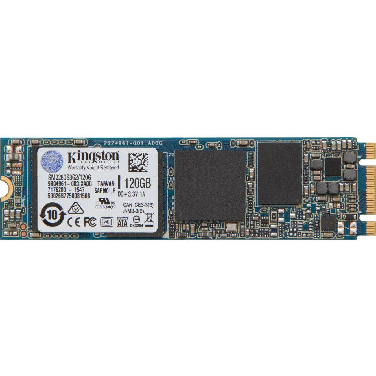 Kingston SSD M.2 2280 120GB SSDNow SATA III G2 Internal Solid State Drive SM2280S3G2/120G 0