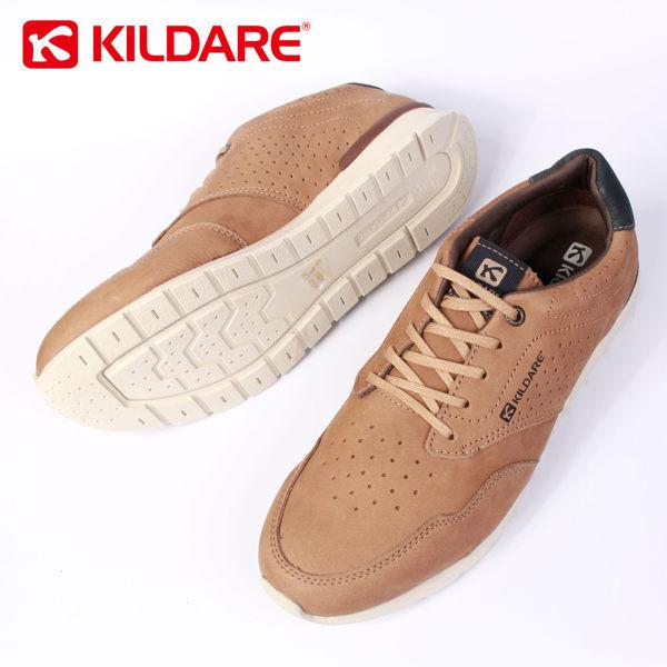 Kildare 巴西綁帶休閒鞋 淺棕 男 慢跑 3