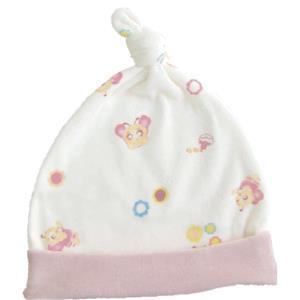 蜜妮寶貝嬰童用品館:【蜜妮寶貝嬰童用品館】滿版暖絨單結帽藍色、粉紅