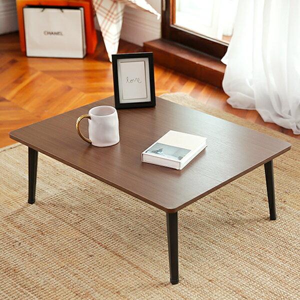 JP Kagu 日式木質和室圓角折疊桌 / 茶几 / 矮桌60x40cm(4色) 2
