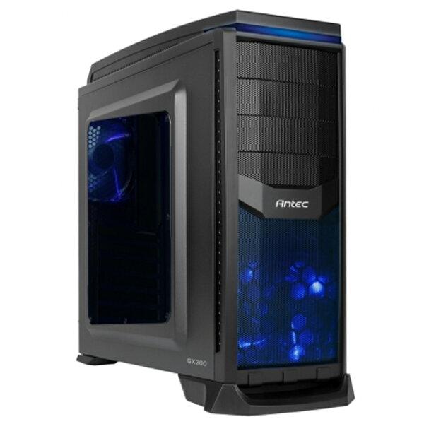 JT3C:【最高折$350】Antec安鈦克GX300暗夜戰警ATX2大6小電腦機殼透側