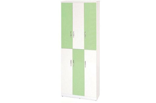 【石川家居】898-07(綠白色)鞋櫃(CT-334)#訂製預購款式#環保塑鋼P無毒防霉易清潔
