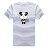 ◆快速出貨◆T恤.親子裝.情侶裝.班服.MIT台灣製.獨家配對情侶裝.客製化.純棉短T.瞇瞇眼貓熊【YC413】可單買.艾咪E舖 2
