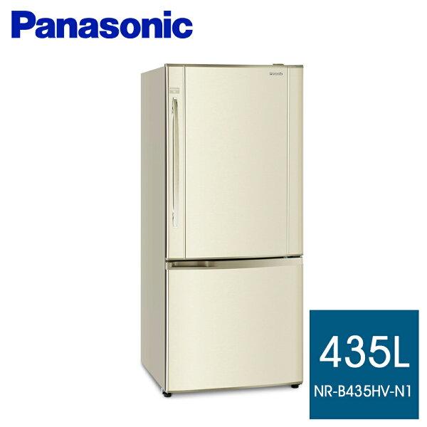 永佳電器:Panasonic國際牌435公升雙門變頻冰箱NR-B435HV-N1