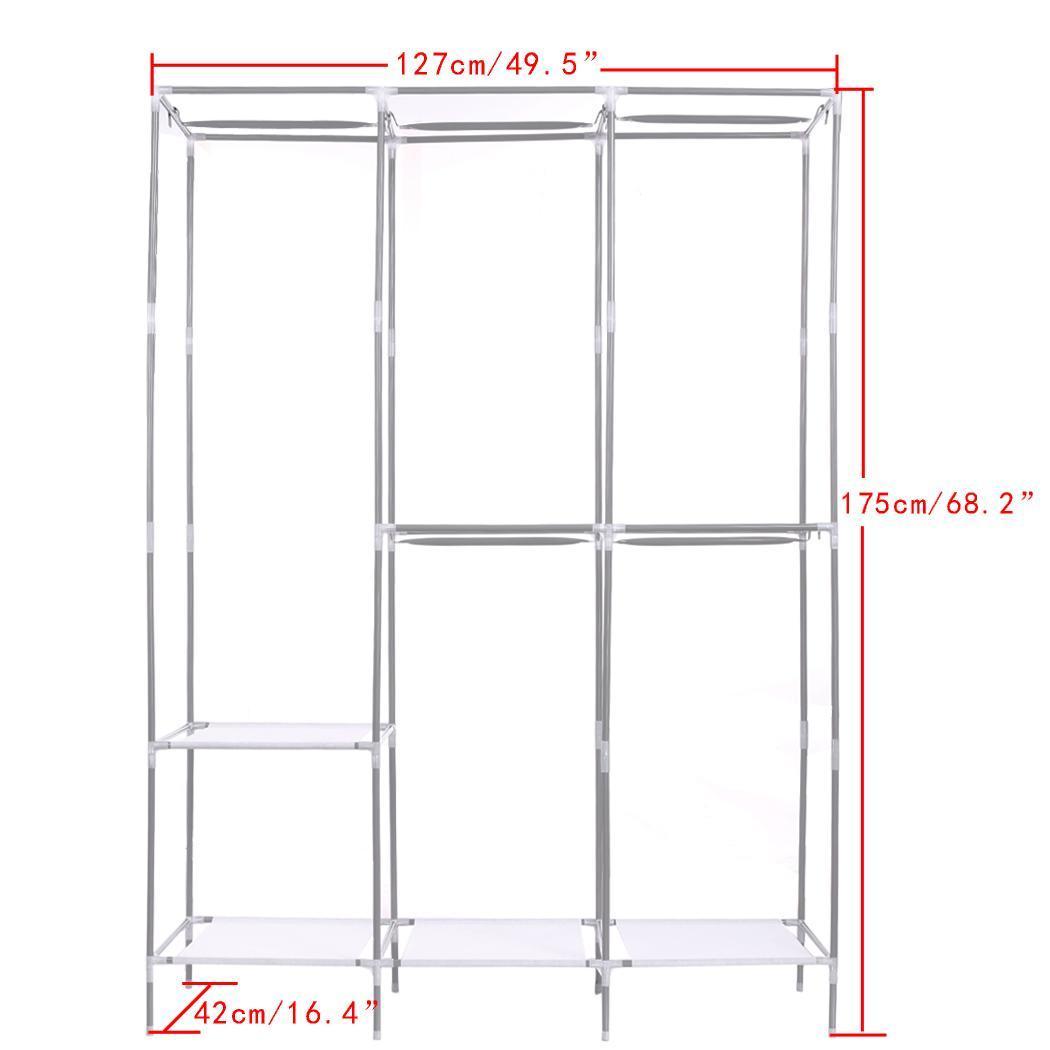 Non-Woven Folding Practical Closet Wardrobe 4