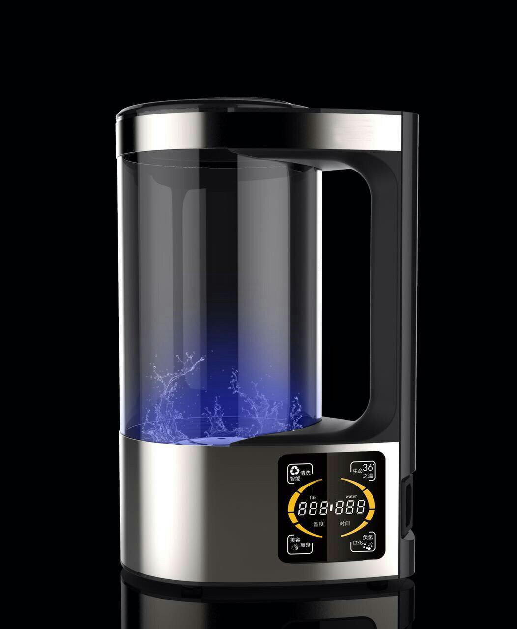 【香芝】2L富氫離子水壺 高濃度水素水生成器 時尚造型水機 負氫水負電位 精美禮盒包裝 免運費