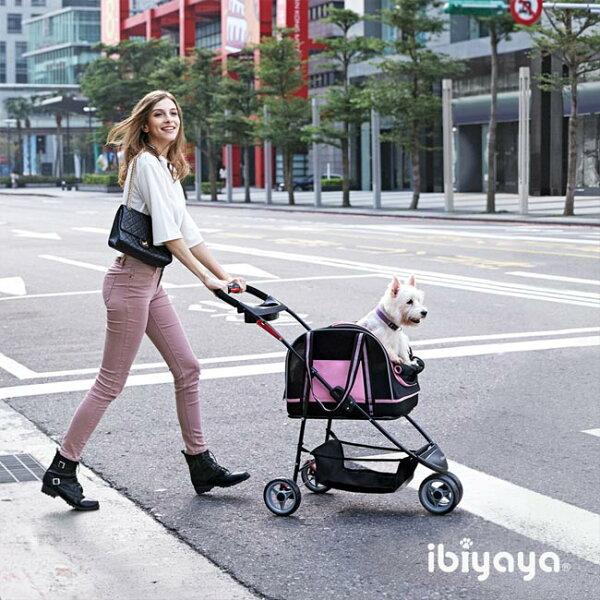 汪咪堡寵物健康生活館:IBIYAYA依比呀呀雙重奏分離式寵物提包推車(FS1511-S)