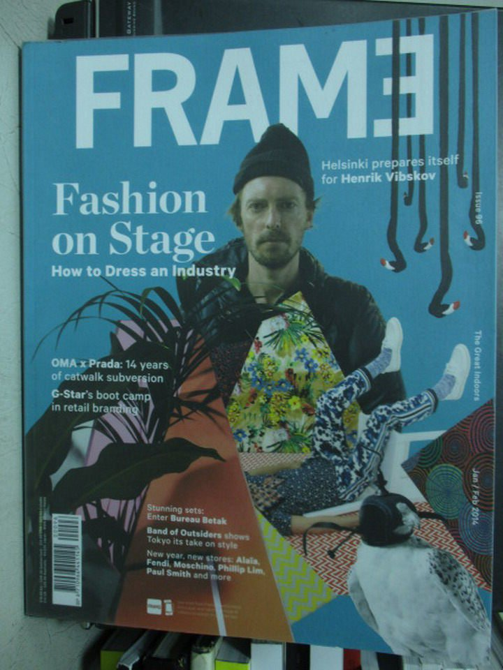 【書寶二手書T3/設計_PNK】FRAME_96期_Fashion on stage_2015/1