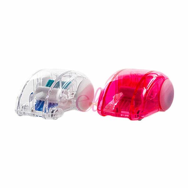 MIDORI 桌上清潔 迷你吸塵器 粉紅/透明 兩款供選 ☆艾莉莎ELS☆