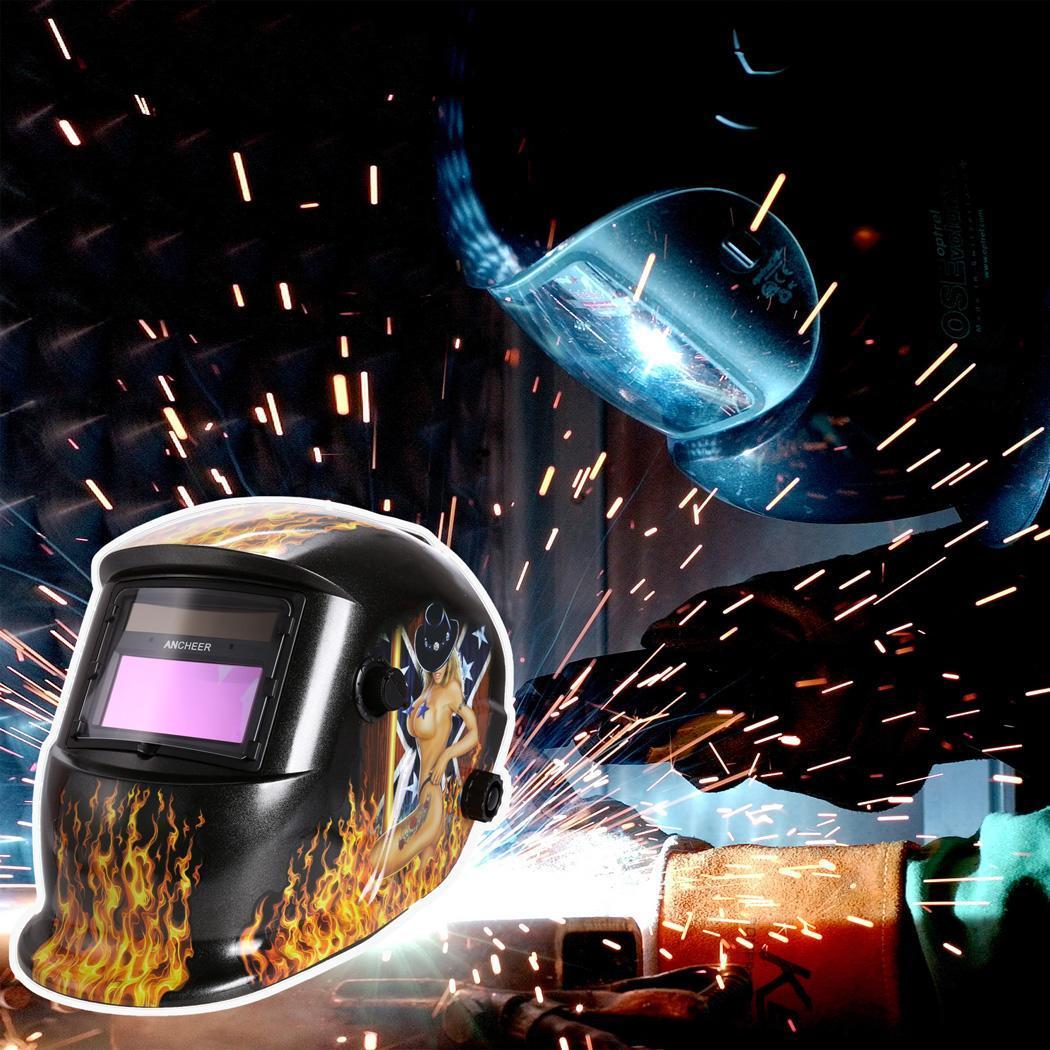 Solar Arc Tig Mig Auto-Darkening Welding Helmet Professional Mask 5