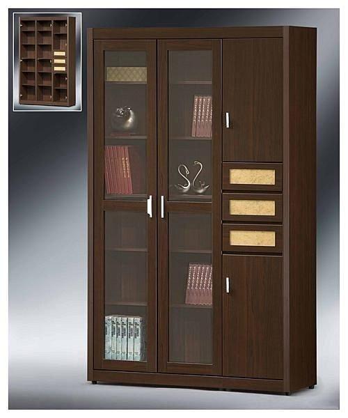【尚品傢俱】 EY-42 1.3尺金絲貓書櫃~(另有2.7尺.4x7書櫃~)