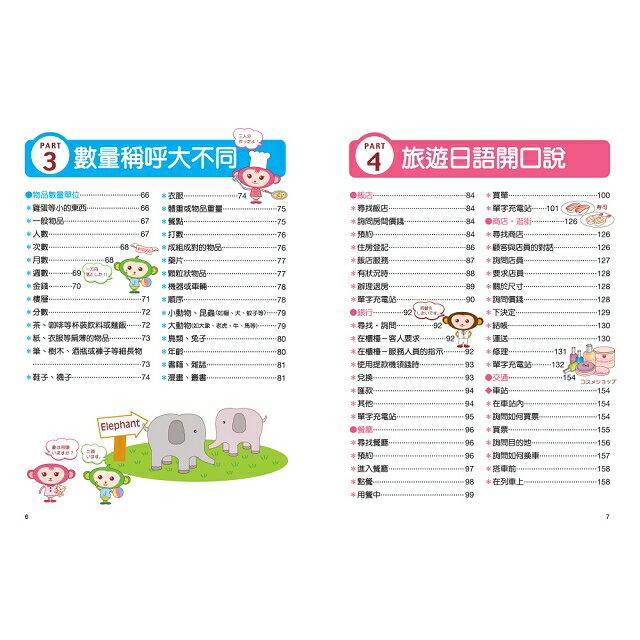 大字清晰版初學者開口說日語(附日中對照MP3) 4