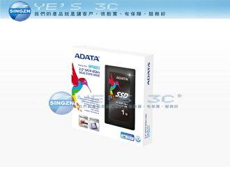 「YEs 3C」ADATA 威剛 SP920 2.5吋 SATAIII SSD 固態硬碟 1TB 免運 客訂