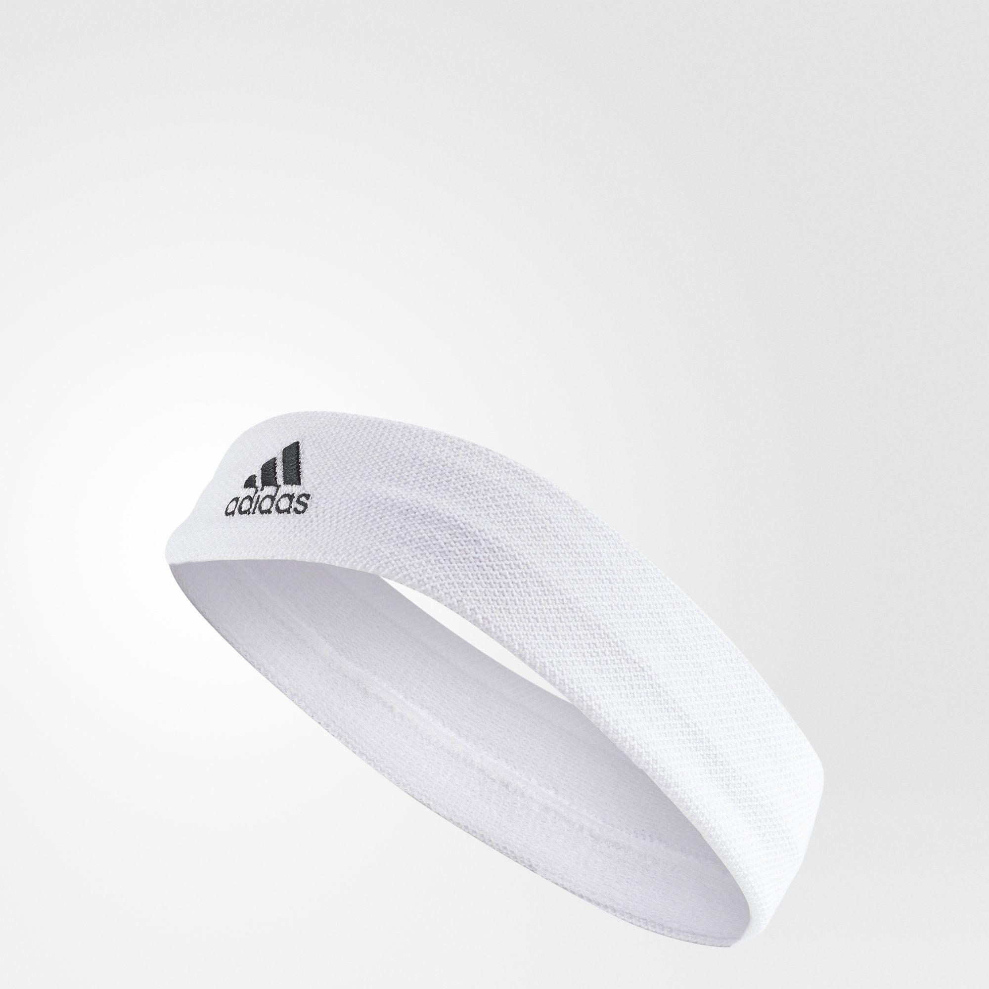 ADIDAS TEN HEADBAND 頭帶 網球 白 黑【運動世界】S97911