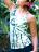 【Bali】紮染紋貼胸背心 0