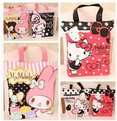 帆布包 Hello Kitty可愛帆布購物袋