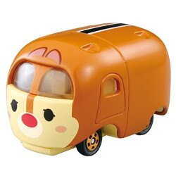 大賀屋 TOMICA 小汽車 TSUM 蒂蒂 多美小汽車 疊疊樂 汽車 模型 花栗鼠 迪士尼 日貨 正版授權 L00010047