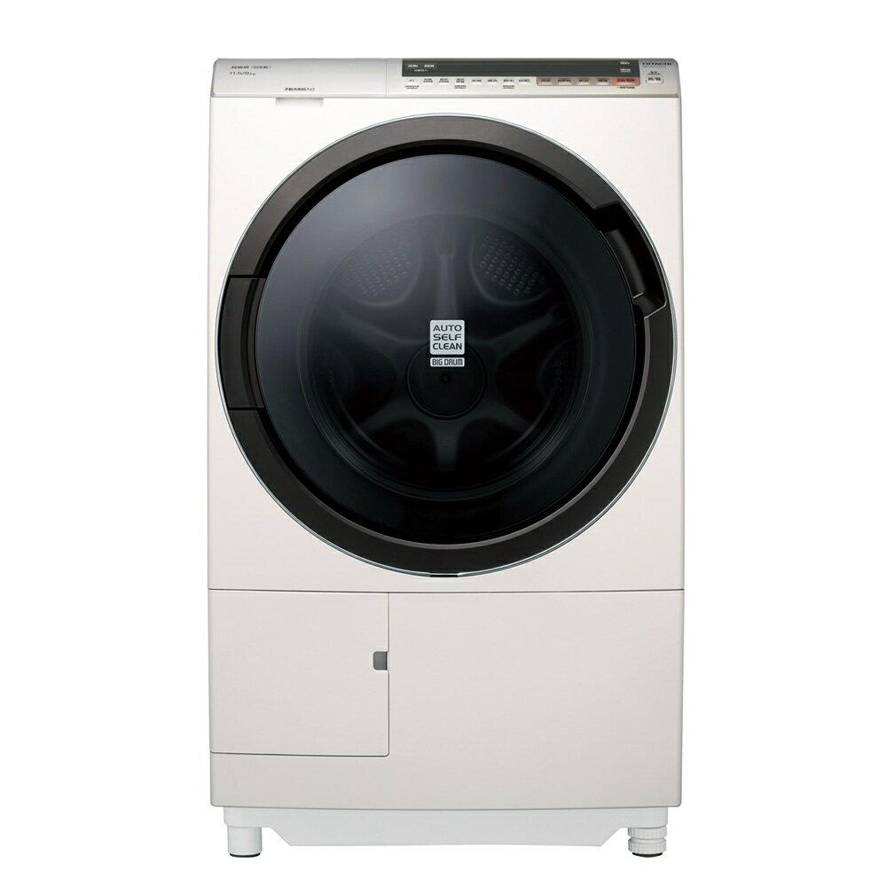 日立 HITACHI 11.5公斤洗脫烘滾筒洗衣機(右開) BDSV115EJR