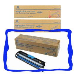 KONICA MINOLTA magicolor 1600W / 1650EN / 1690MF原廠彩色高容量碳粉-青色C