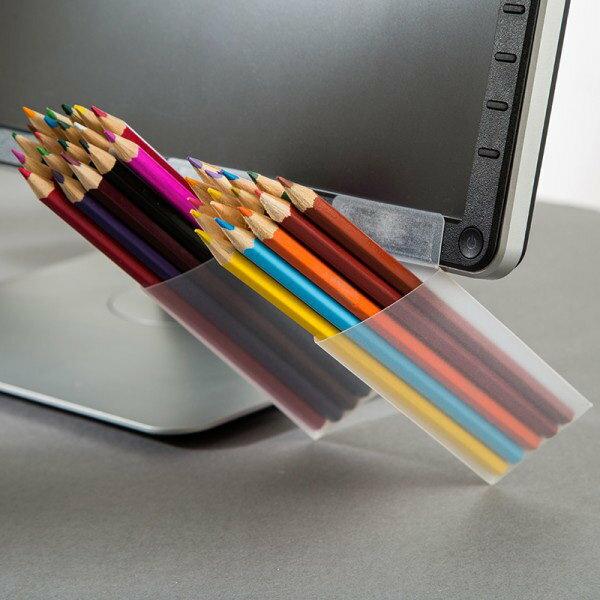 桌面收納 螢幕收納 韓國文具 DIY 筆筒【SV7446】HappyLife