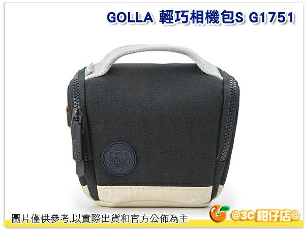 GOLLA 芬蘭時尚 【G1751】 煤礦黑 新款 輕巧 耐用 相機包 肩揹包 手提包 公司貨