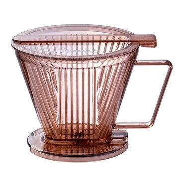 金時代書香咖啡  TIAMO Smart2 Coffee 濾杯 (透明咖啡) SGS合格  HG5569TBR