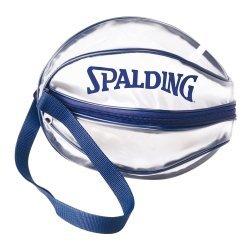【H.Y SPORT】SPALDING 斯伯丁 單顆裝籃球瓢蟲袋(深藍 / 銀白) 0