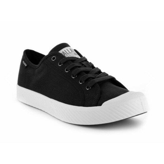帝安諾 PALLADIUM PALLAPHOENIX OG CVS 帆布鞋(黑白)75733-002 餅乾鞋 男女