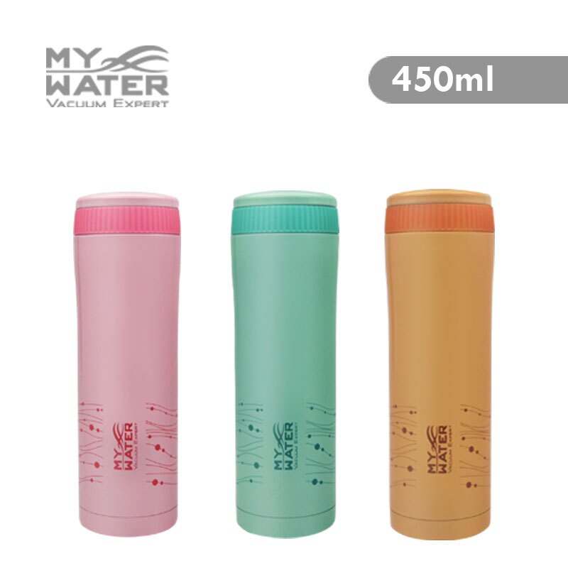 MY WATER 菁動保溫杯450ml 6色