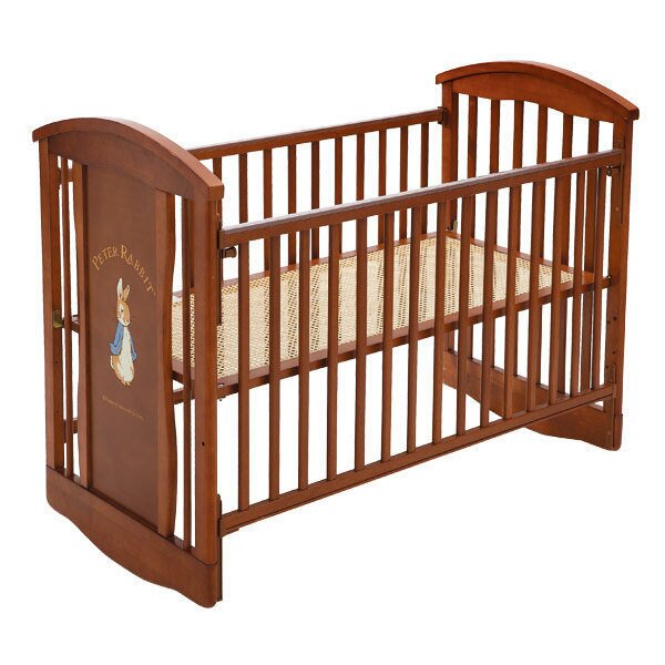 【促銷】奇哥 比得兔 原木中床+優雅比得兔六件式寢具組 / 床組 (M) 0