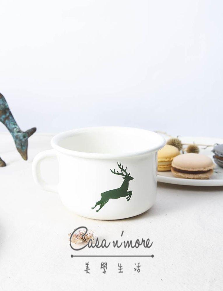 Riess 琺瑯鍋 咖啡杯 馬克杯大口徑 /400ML