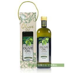 台糖 純級橄欖油禮盒(1公升/盒)
