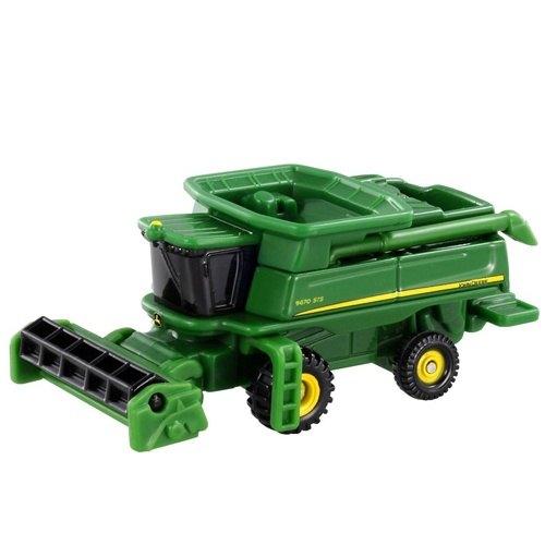 《 TOMICA 火柴盒小汽車 》TM028 收割農機車