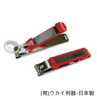 指甲剪-指甲刀老人用品含放大鏡日本製[O0373]*可超取*