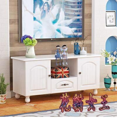 2021搶先款 新品電視櫃簡約現代茶幾套裝家具地中海臥室地櫃小戶客廳電視機櫃 aj14126【花貓女王】 新年狂歡