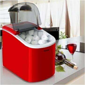 2021搶先款 製冰機全自動商用家用小型奶茶店15Kg台式手動圓冰塊製作機wy 新年狂歡