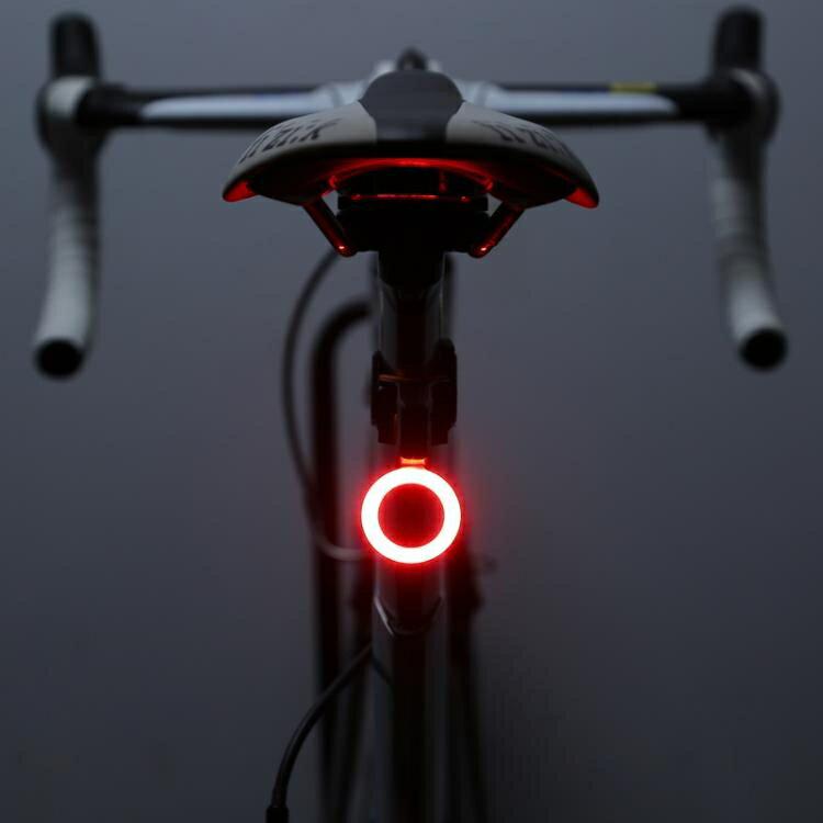 搶先福利 自行車尾燈usb充電腳踏車燈夜騎騎行高亮尾燈裝備 夏季狂歡爆款