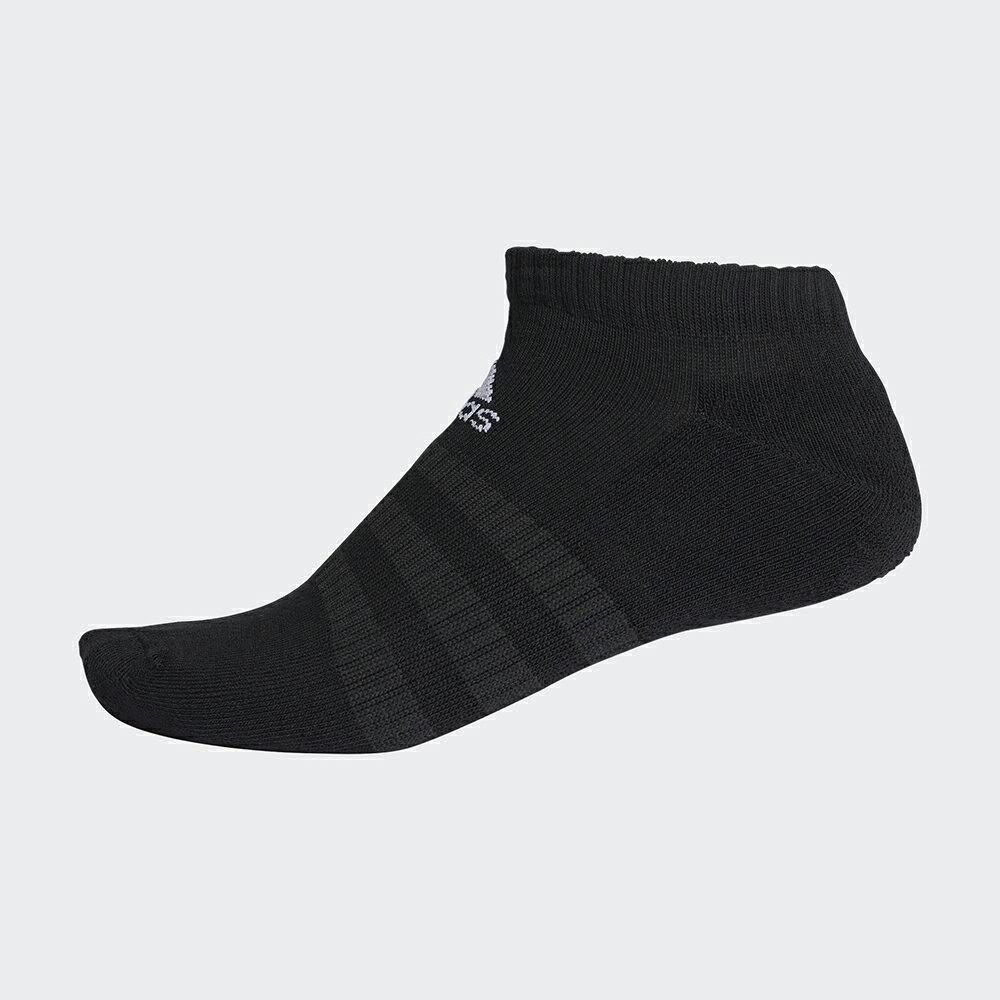 ★二入★ ADIDAS CUSH LOW 襪子 腳踝襪 腳掌加厚 短襪 休閒 黑【運動世界】DZ9389