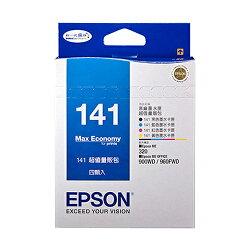 EPSON 141 墨水匣量販包 C13T141650【三井3C】