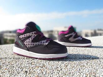 Shoestw【V63024】Reebok PUMP OMNI 小童鞋 中筒 板鞋 紫蒂芬妮綠