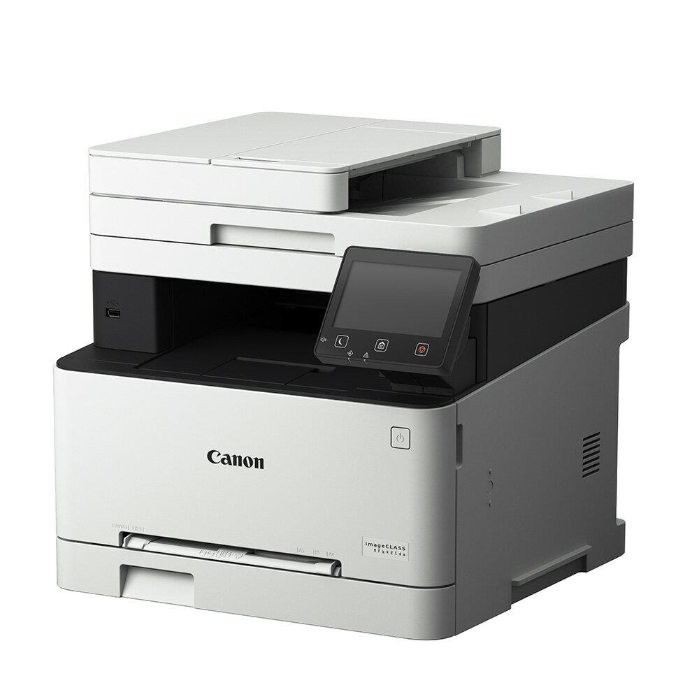 Canon imageCLASS MF642Cdw 彩色雷射多功能複合機+054H BK碳粉匣組(公司貨)