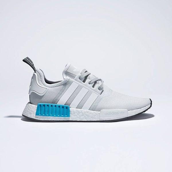 【蟹老闆】ADIDAS NMD R1 新款 白藍 S31511 男生.女生運動鞋