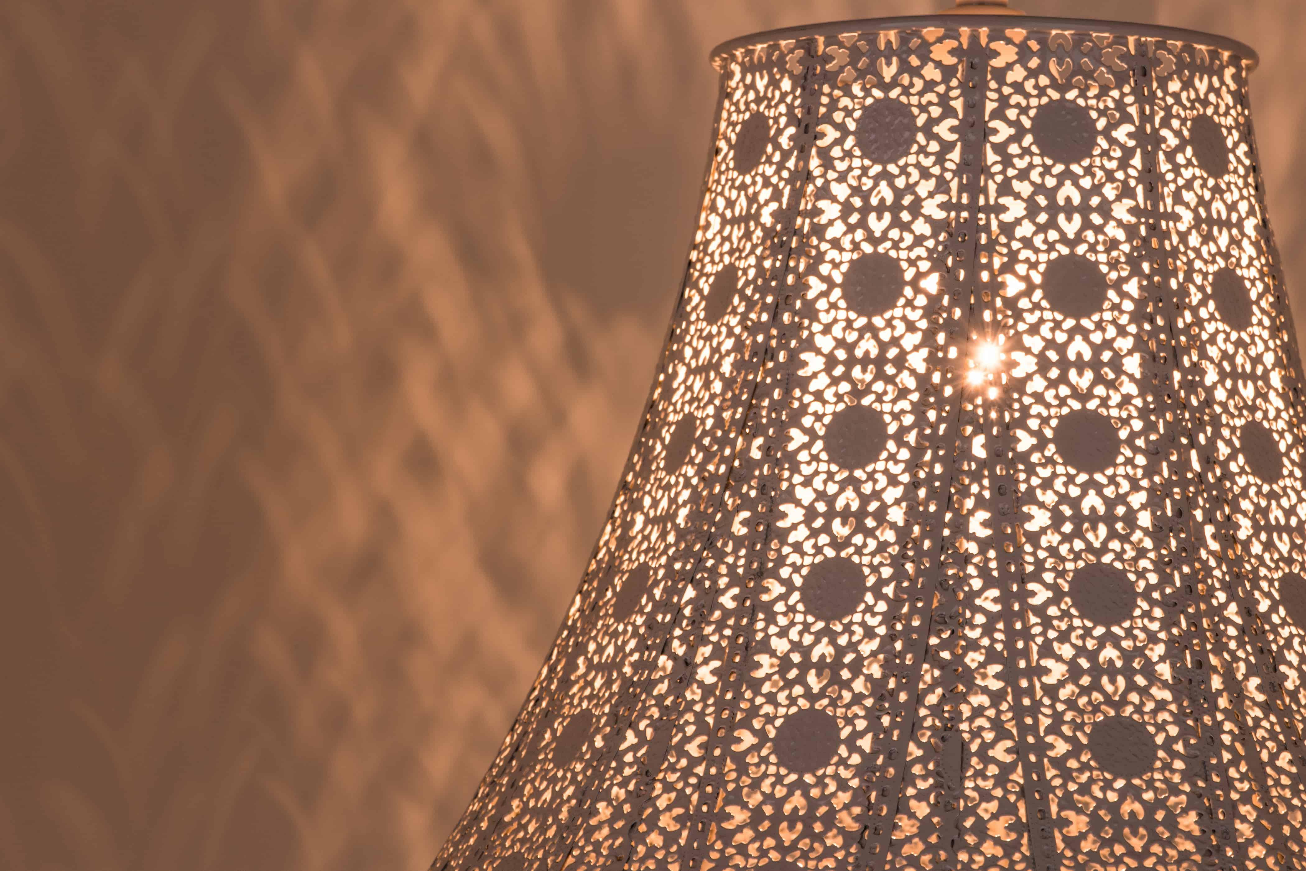 鄉村風米白吊燈-BNL00074 7